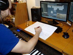 Příprava podkladů pro filmovou hudbu
