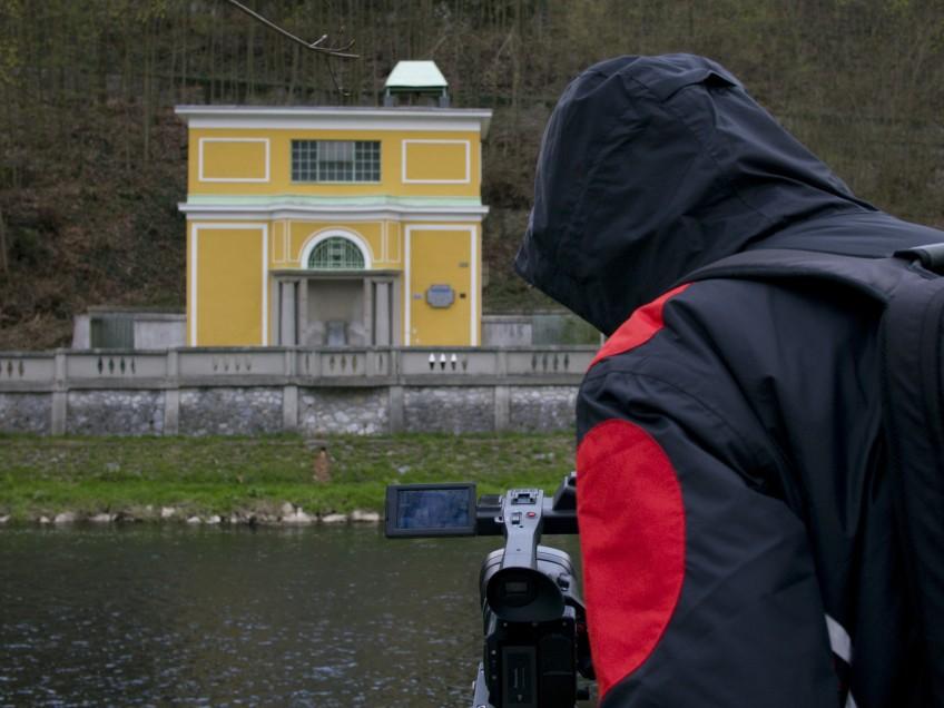 Natáčení v lázních Teplice nad Bečvou