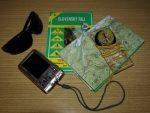 Věci sbalené na cestu do Slovenského ráje