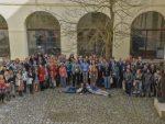 Skupinové foto studentské konference DEITEC PhD Retreat